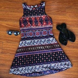 En Creme sz S boho mini dress